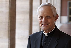 Cardinal Donald W. Wuerl of Washington is pictured at the Pontifical North American College in Rome. (CNS photo/Paul Haring)