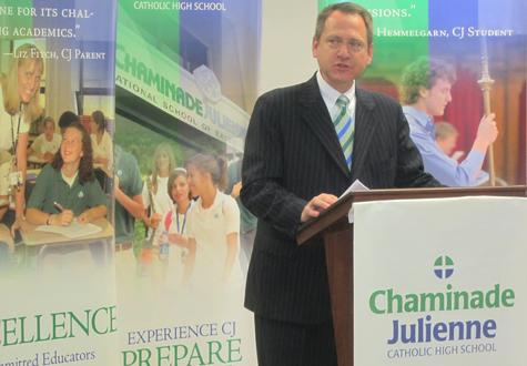 CJ President speaks at STEMM Center announcement