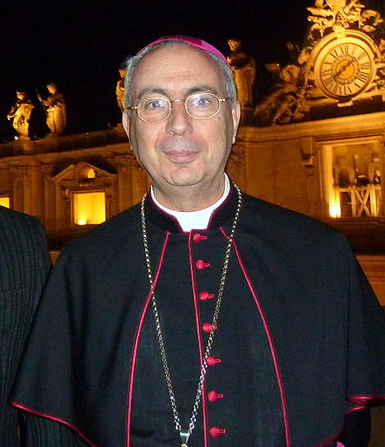 Archbishop Dominique Mamberti