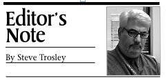 Editor's Note by Steve Trosley
