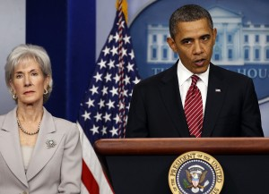 U.S. PRESIDENT OBAMA MAKES STATEMENT ABOUT FUNDING FOR CONTRACEPTIVES
