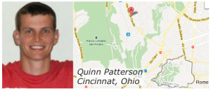 Quinn Patterson from Rome