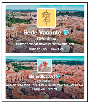 Sede vacante Pontifex