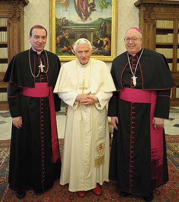 Archbishop Schnurr comments on Pope Benedict XVI's resignation.