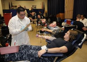 St. Vincent de Paul asking for blood donations