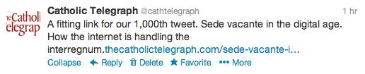 1000th tweet