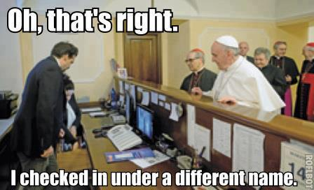 Pope meme 1