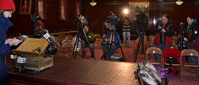 DMS Press conference on Pope Francis