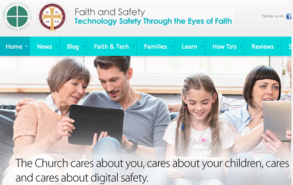 Screenshot from Faithandsafety.org