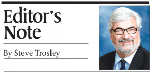 Editor's Note by Steve Trosley