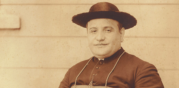 Archbishop Angelo Giuseppe Roncalli, the future Pope John XXIII, pictured in 1926