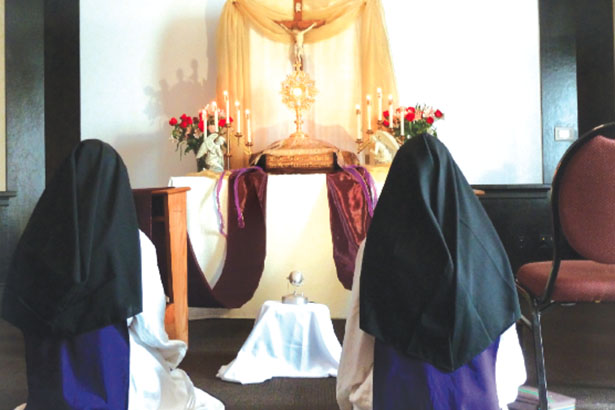 The Sisters of Children of Mary work to spread the love of Jesus Christ in the Blessed Sacrament. (Courtesy Photo)