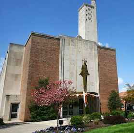 St. Gertrude Catholic Church. (Screenshot)