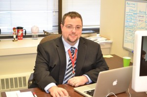 John Stegeman, most recently a reporter for The Catholic Telegraph has been named New Media Editor. (CT File Photo)
