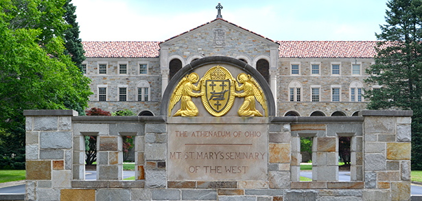 The Athenaeum of Ohio/Mount St. Mary's Seminary of the West is booming with potential priests. With 66 seminarians enrolled this year, the seminary is nearing full capacity. (CT Photo/John Stegeman)