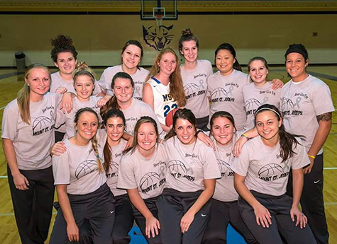 Lauren Hill (22) is a freshman member of Mount St. Joseph University's women's basketball team dying of inoperable brain cancer. Her dream to play a college basketball game is being made possible thanks to collaboration by several institutions. (Courtesy Photo/The Cure Starts Now Foundation)
