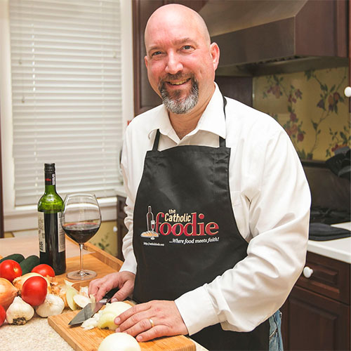 Jeff Young, founder and producer of  The Catholic Foodie, uses social media and his background as an educator to make the connection between food and faith. (Courtesy Photo)