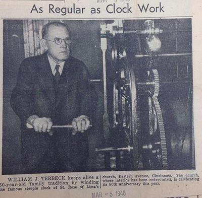St. Rose clock Throwback Thursday 2