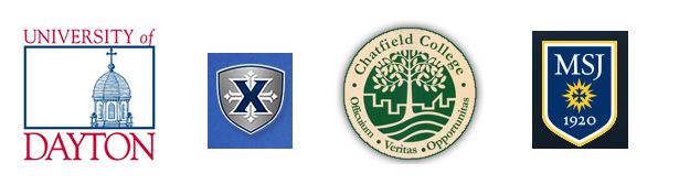 The four Catholic colleges located in the Archdiocese of Cincinnati are the University of Dayton, Xavier University, Chatfield College and Mount St. Joseph University.