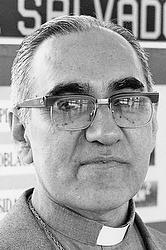 Undated file photo of salvadoran archbishop oscar romero cns photo