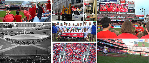 With much of the region and nation celebrating baseball's all-stars, The Catholic Telegraph looks back on the connection of the archdiocese community to the Cincinnati Reds. (CT File Photos)