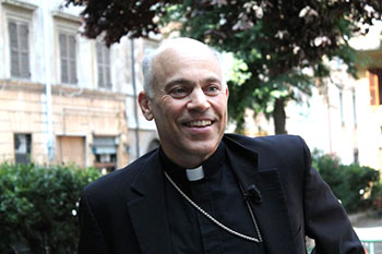 Archbishop Salvatore Cordileone, of San Francisco, in Rome on June 28, 2013. (CNA Photo/Lauren Cater)