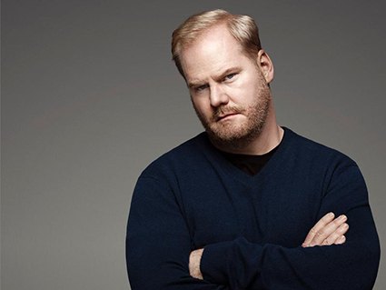 """Jim Gaffigan, the comic actor known both for his funny books like """"Dad Is Fat"""" and """"Food: A Love Story"""" and his inclusion of his Catholicism in his stand-up routines, is pictured in a 2010 photo. Gaffigan and his wife, Jeannie, have collaborated on a new TV Land cable sitcom, """"The Jim Gaffigan Show."""" (CNS photo/courtesy of TV Land)"""