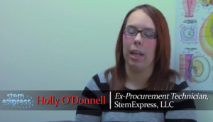 Holly O'Donnell. (Screenshot from Video)