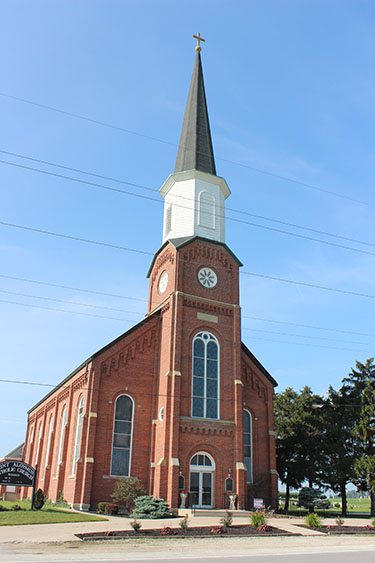 St. Aloysius Parish in Carthagena marked 150 years in June. (Courtesy Photo)