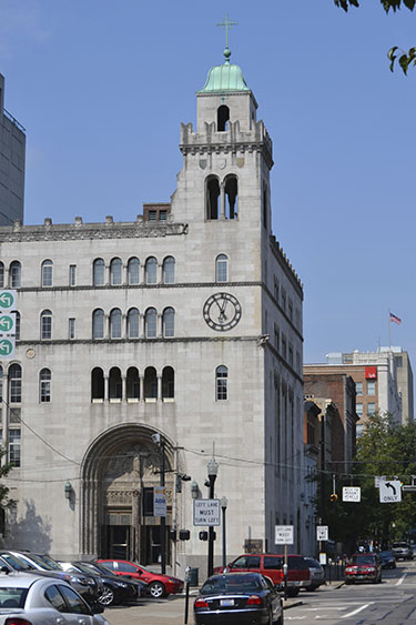St. Louis Catholic Church is the home of the Archdiocese of Cincinnati tribunal. (CT Photo/John Stegeman)