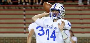 CT Photo/E.L. Hubbard St. Xavier quarterback Sean Clifford looks for a target during their game against Moeller at Nippert Stadium in Cincinnati.
