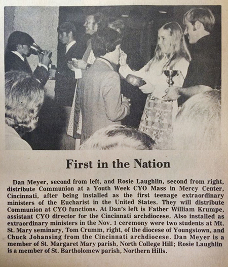 From the Nov. 10, 1972 edition of The Catholic Telegraph. (CT File)