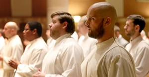 Sixteen men were installed as acolytes on Nov. 4 at the Chapel of St. Gregory the Great at the Athenaeum of Ohio. (Courtesy Photo/The Athenaeum of Ohio)