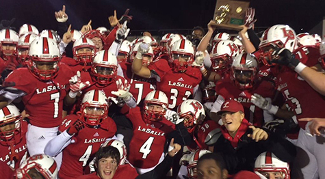 The La Salle High School football team is 12-2 and faces Perry tonight for the Division II state championship. (Courtesy Photo/La Salle High School)