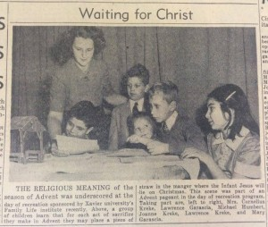 From the Dec. 12, 1942 edition of The Catholic Telegraph-Register. (CT File)