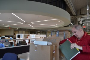 Staff moved into their new offices on Jan. 6. (CT Photo/John Stegeman)