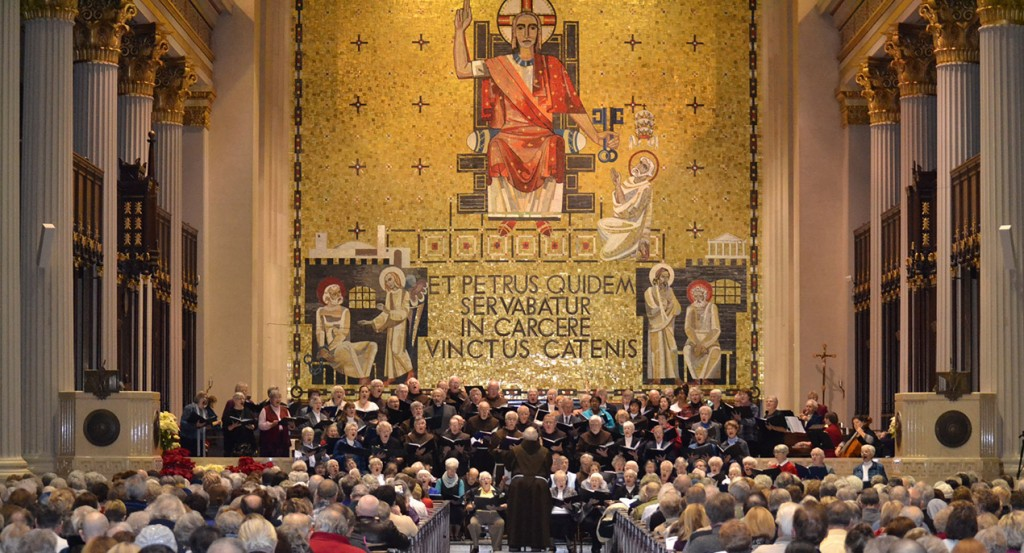 A Jan. 17 concert celebrating the Year of Consecrated Life packed the Cathedral of St. Peter in Chains. (CT Photo/Steve Trosley)