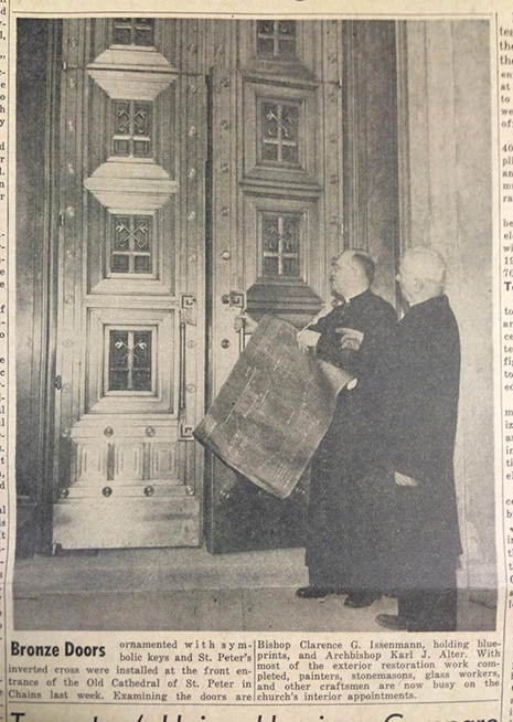 From the April 5, 1957 edition of The Catholic Telegraph-Register. (CT File)