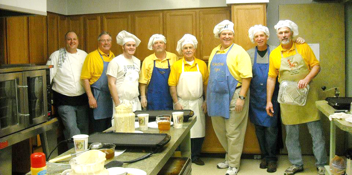 The Corpus Christi Fryers take pride in serving up excellent fish and fostering Catholic fellowship. (Courtesy Photo)