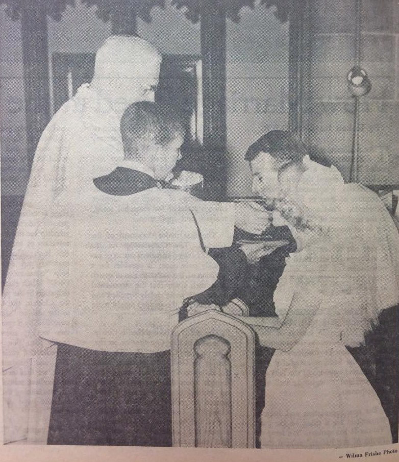 From the 1967 wedding supplement to The Catholic Telegraph-Register. (CT File)