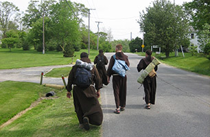 """The Franciscans of St. John the Baptist Province live """"A Gospel Lifestyle."""""""
