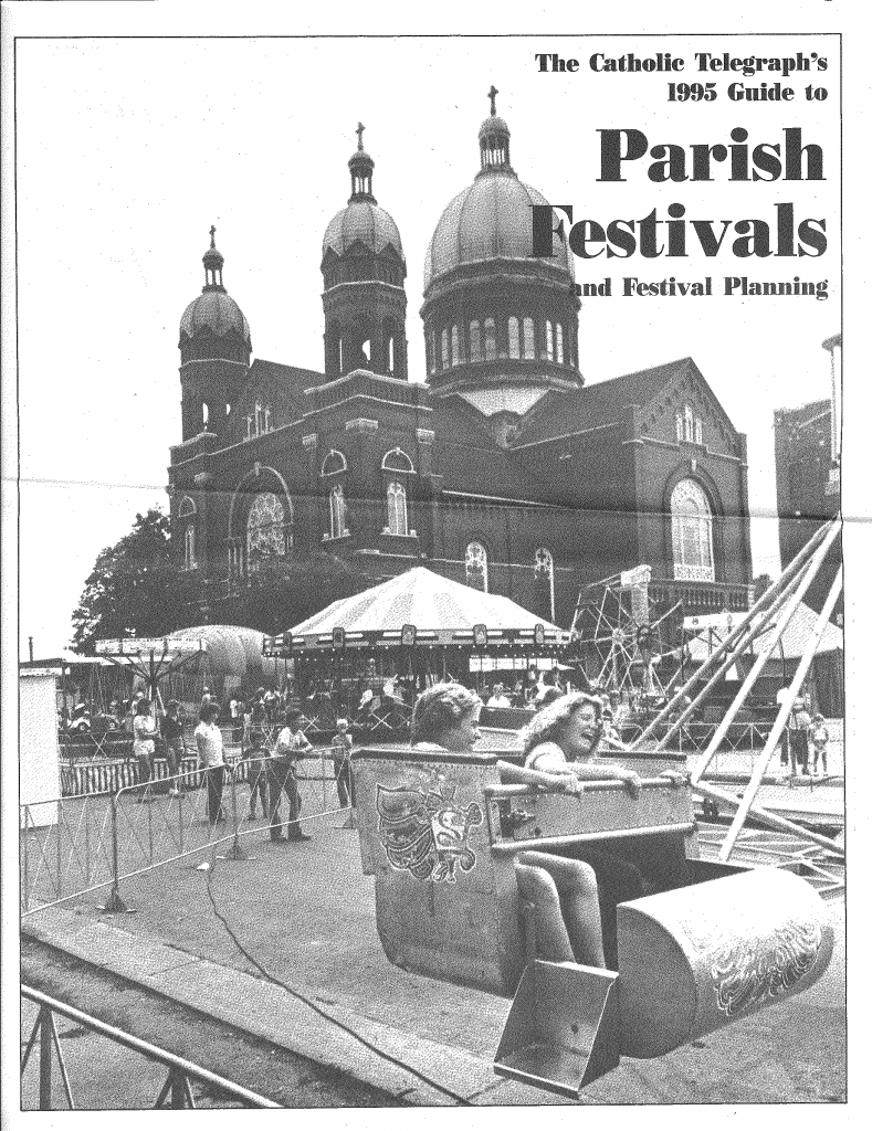 The cover of the 1995 The Catholic Telegraph Guide to Parish Festivals and Festival Planning. (CT File)