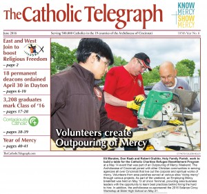 The June 2016 print edition of The Catholic Telegraph begins arriving in homes May 27. (CT File)