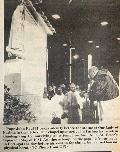 Image from May 21, 1982 The Catholic Telegraph.