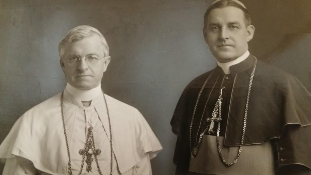 Archbishop McNicholas and Bishop Vehr