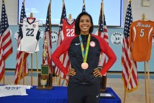Rachael Adams Bronze Medal Winner, Class of 2008 Mount Notre Dame High School. (Courtesy Photo)