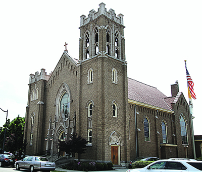 St. Columbkille Parish in Wlimington recently celebrated its 150th anniversary. (CT Photo/E.L. Hubbard)