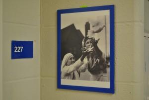 Mount Notre Dame High School honoring Mother Teresa. (Courtesy Photo)