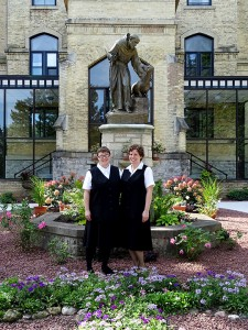 Franciscan Postulants Tricia and Megan (Courtesy Photo)