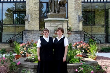 Franciscan Postulants Tricia and Megan (Courtesy Photo)